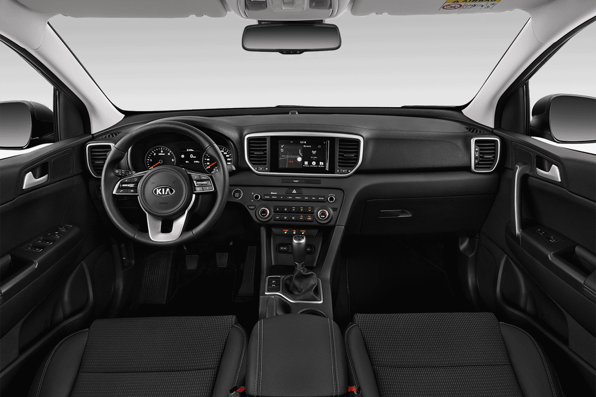 KIA Sportage Hybrid dashboard