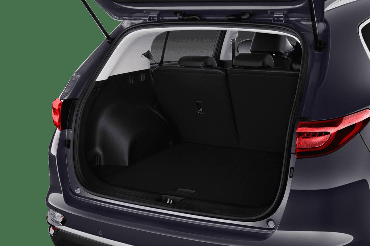 KIA Sportage Hybrid trunk