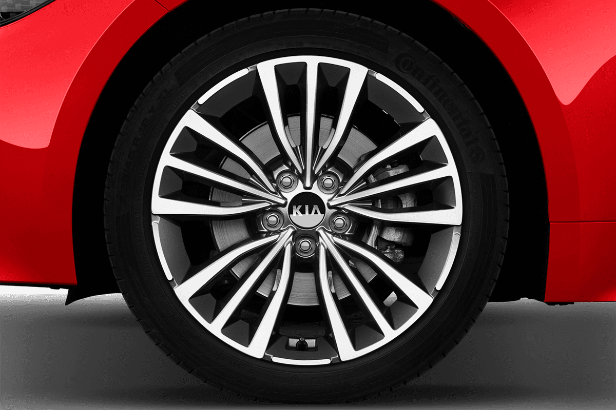 KIA Stinger wheelcap