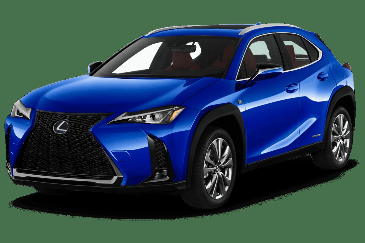 Lexus UXe angularfront