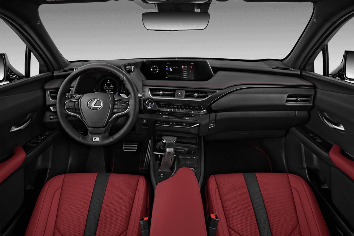 Lexus UXe dashboard