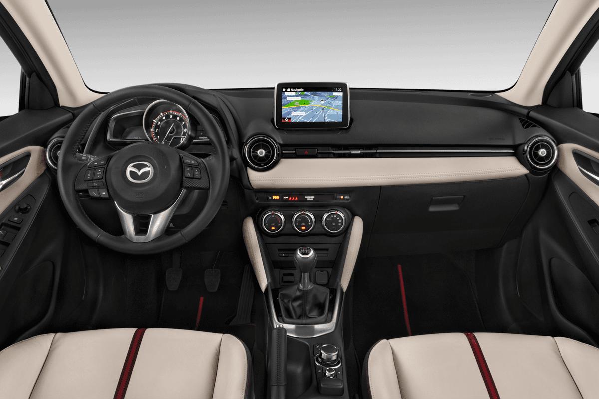 Mazda 2 Signature dashboard