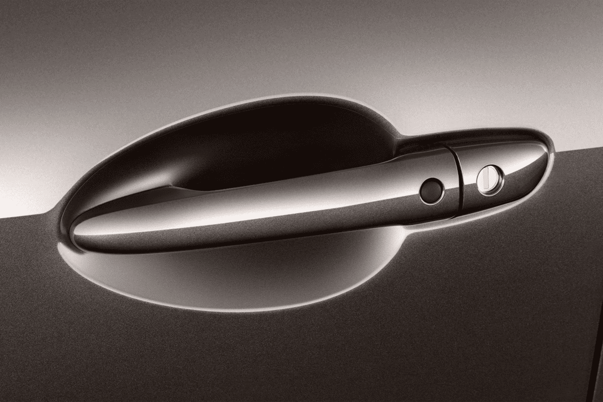 Mazda 2 Signature doorhandle