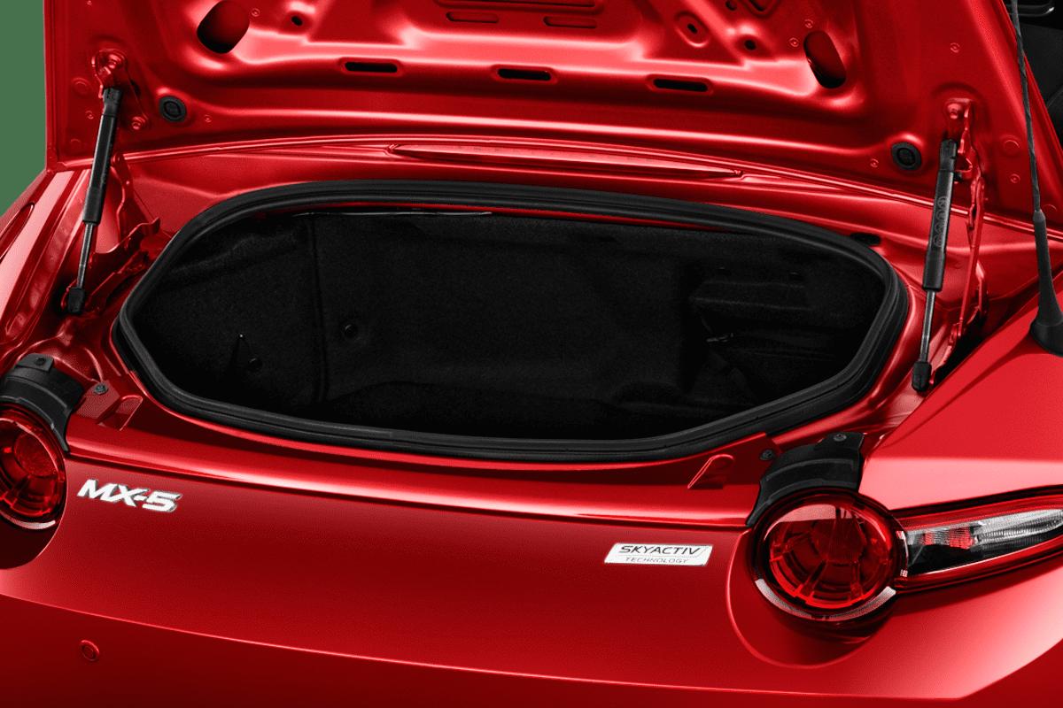 Mazda MX-5 Roadster trunk