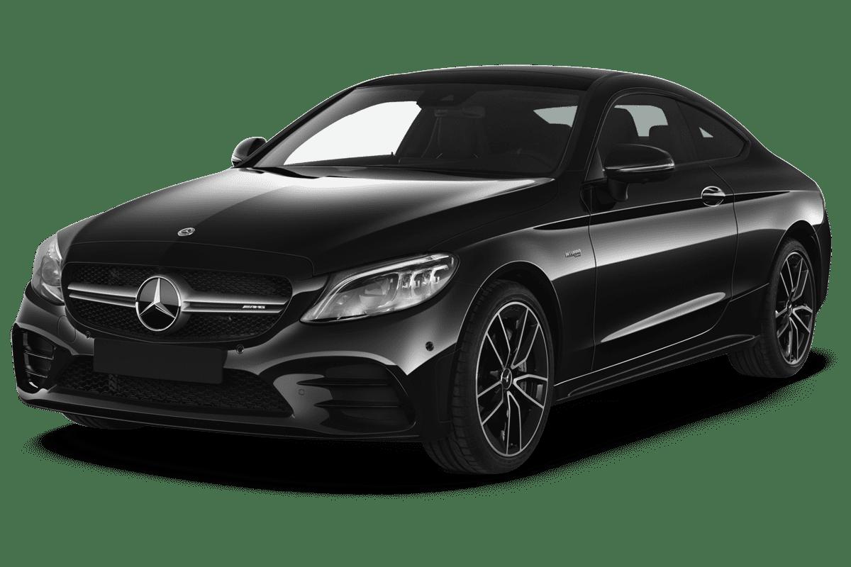 Mercedes C-Klasse Coupé angularfront