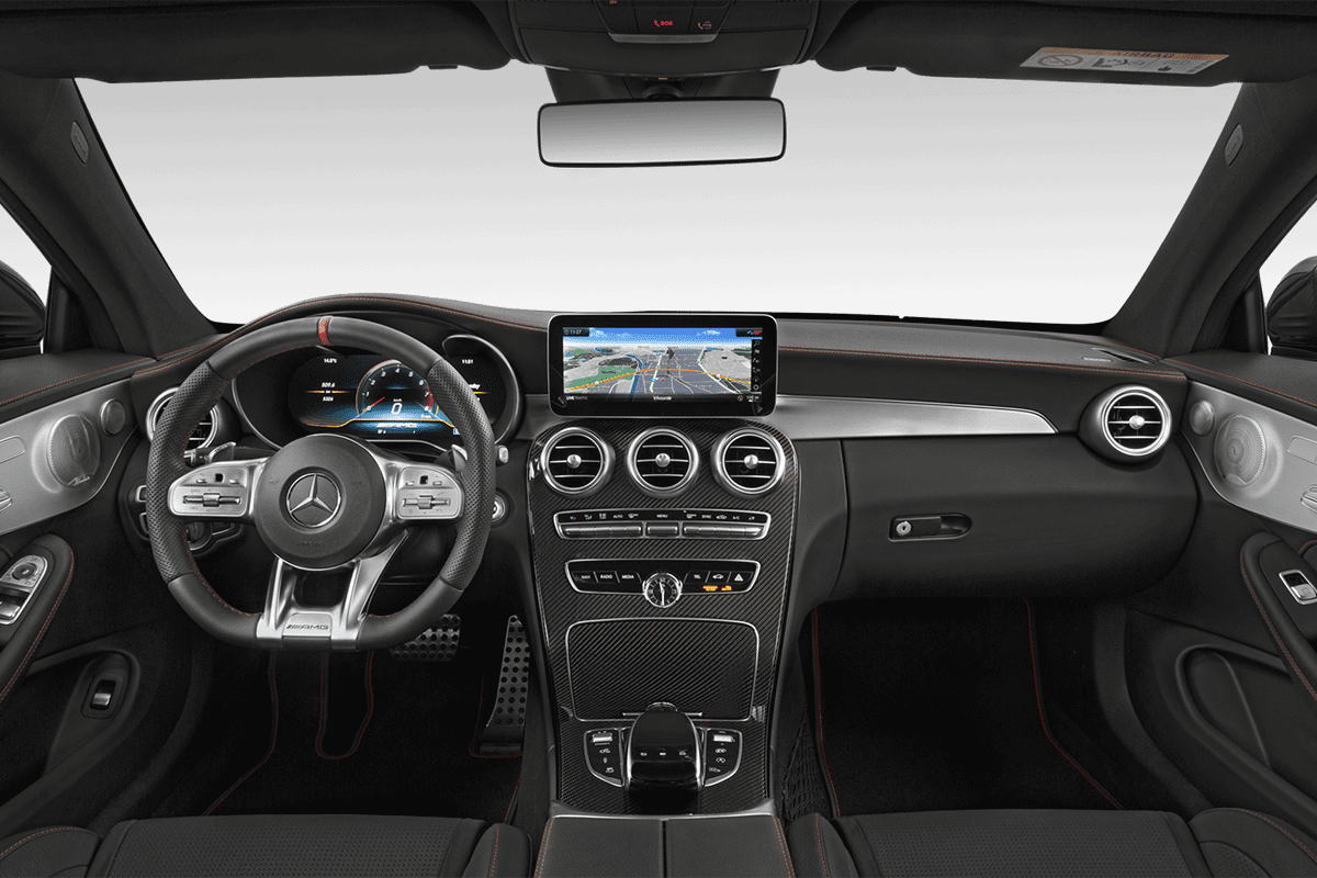 Mercedes C-Klasse Coupé dashboard
