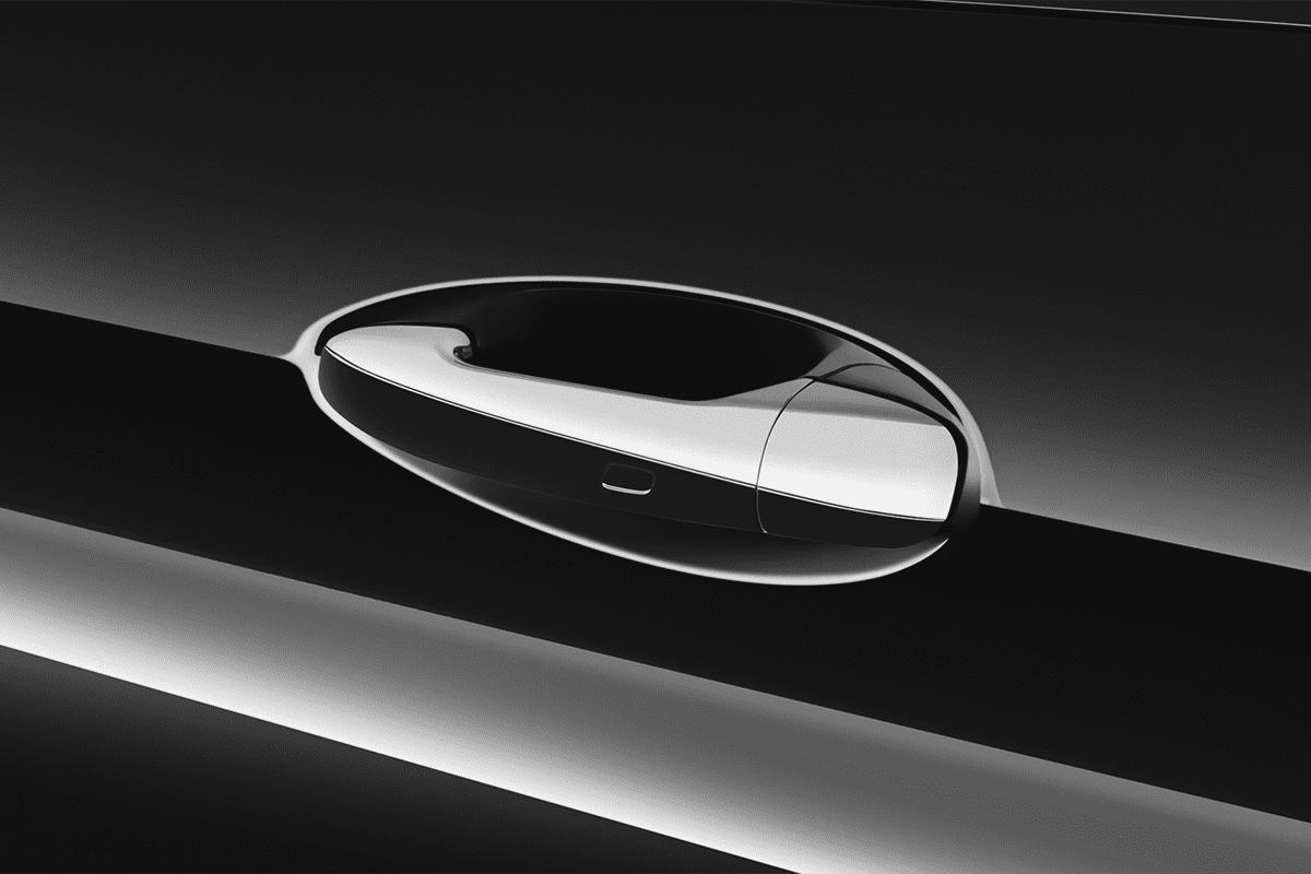Mercedes C-Klasse Coupé doorhandle