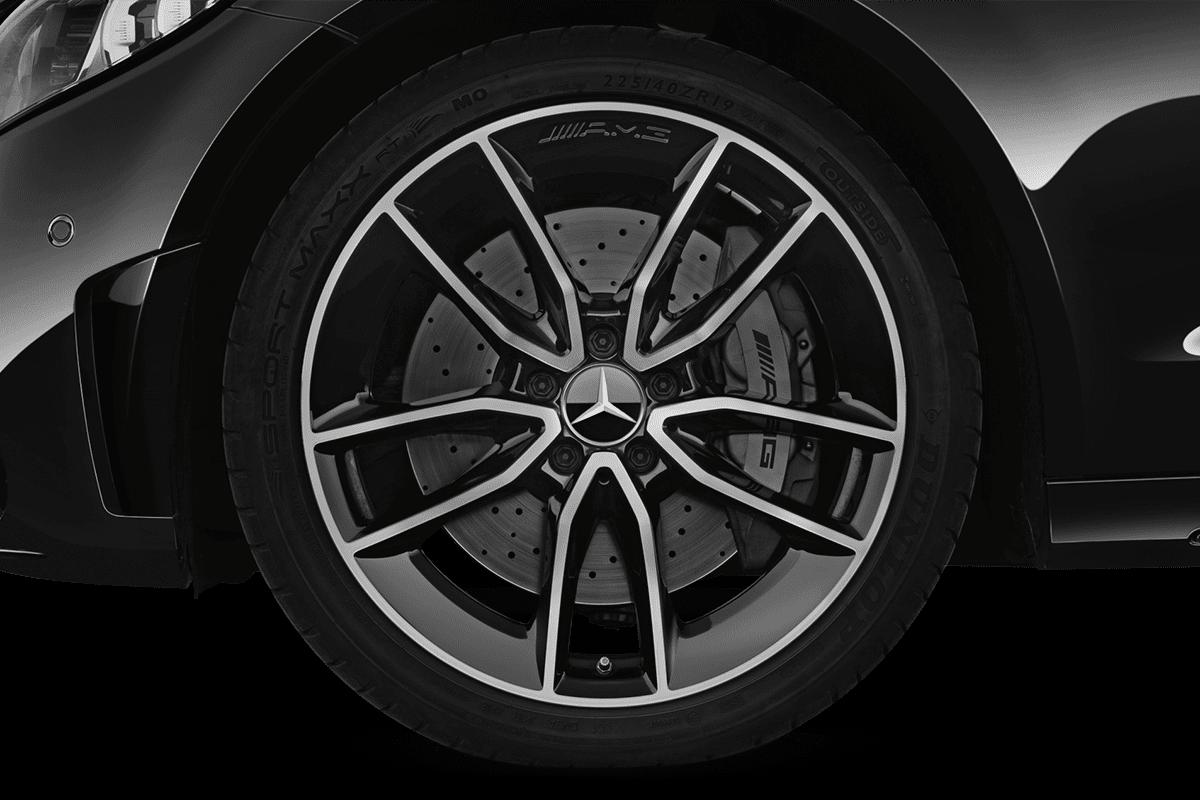 Mercedes C-Klasse Coupé wheelcap