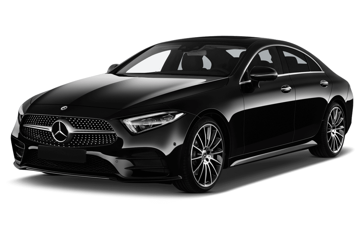 Mercedes CLS Coupé angularfront