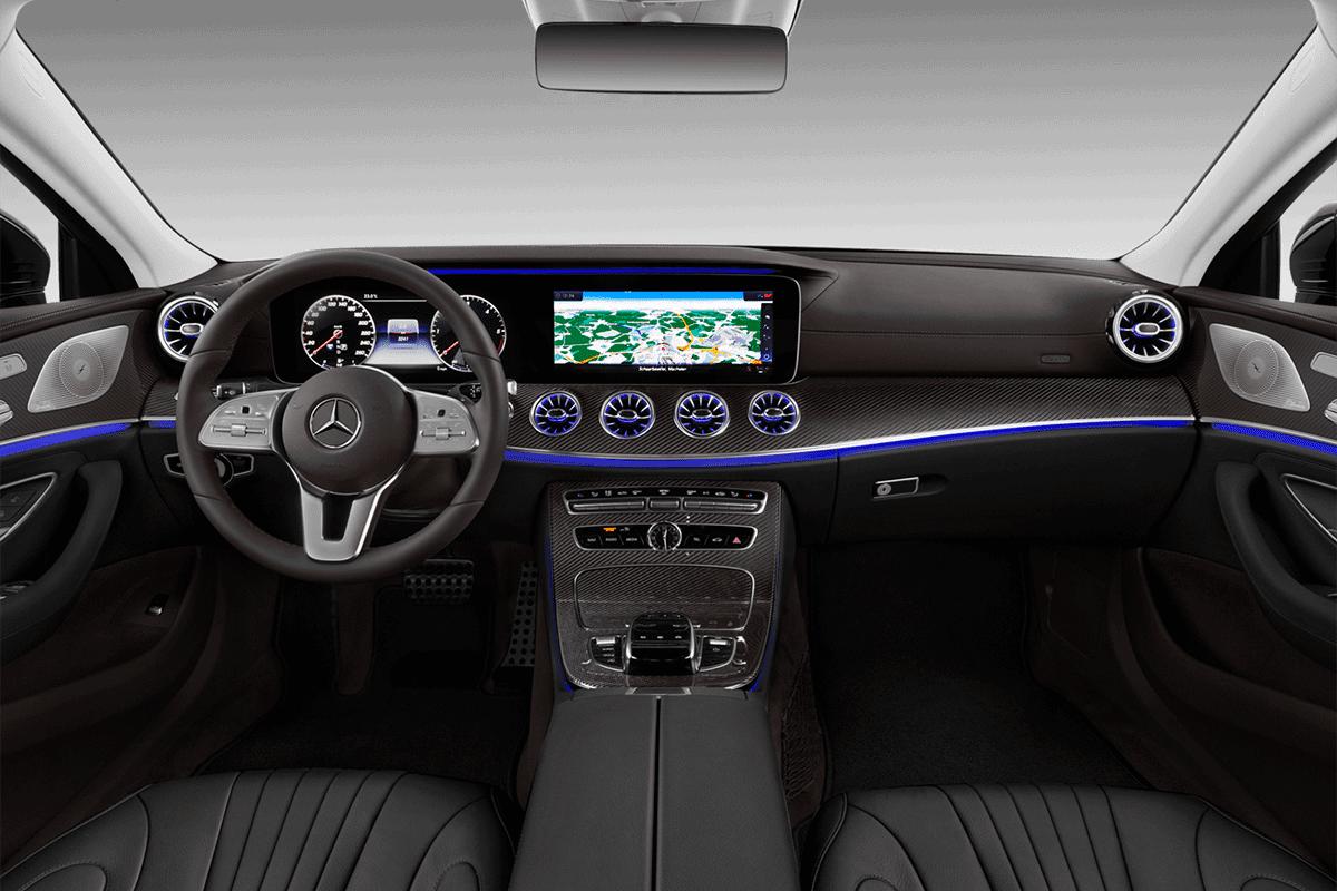 Mercedes CLS Coupé dashboard
