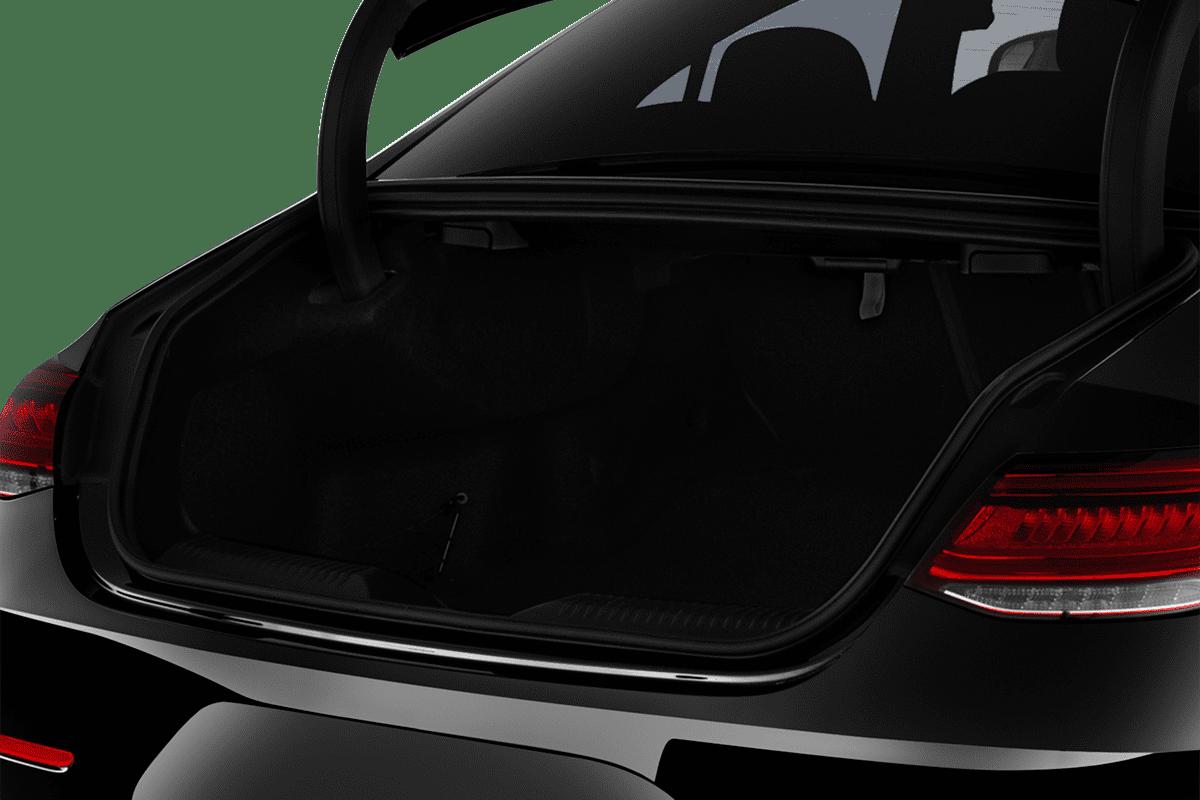 Mercedes CLS Coupé trunk