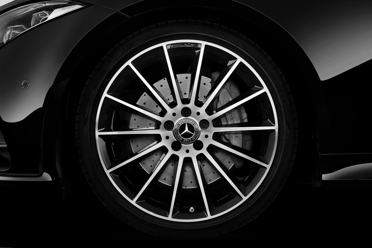 Mercedes CLS Coupé wheelcap