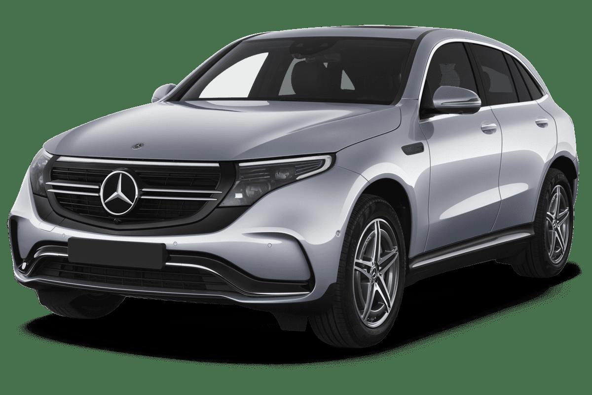 Mercedes EQC angularfront