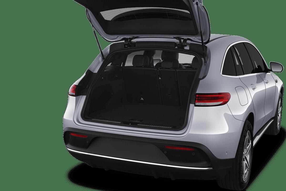 Mercedes EQC trunk