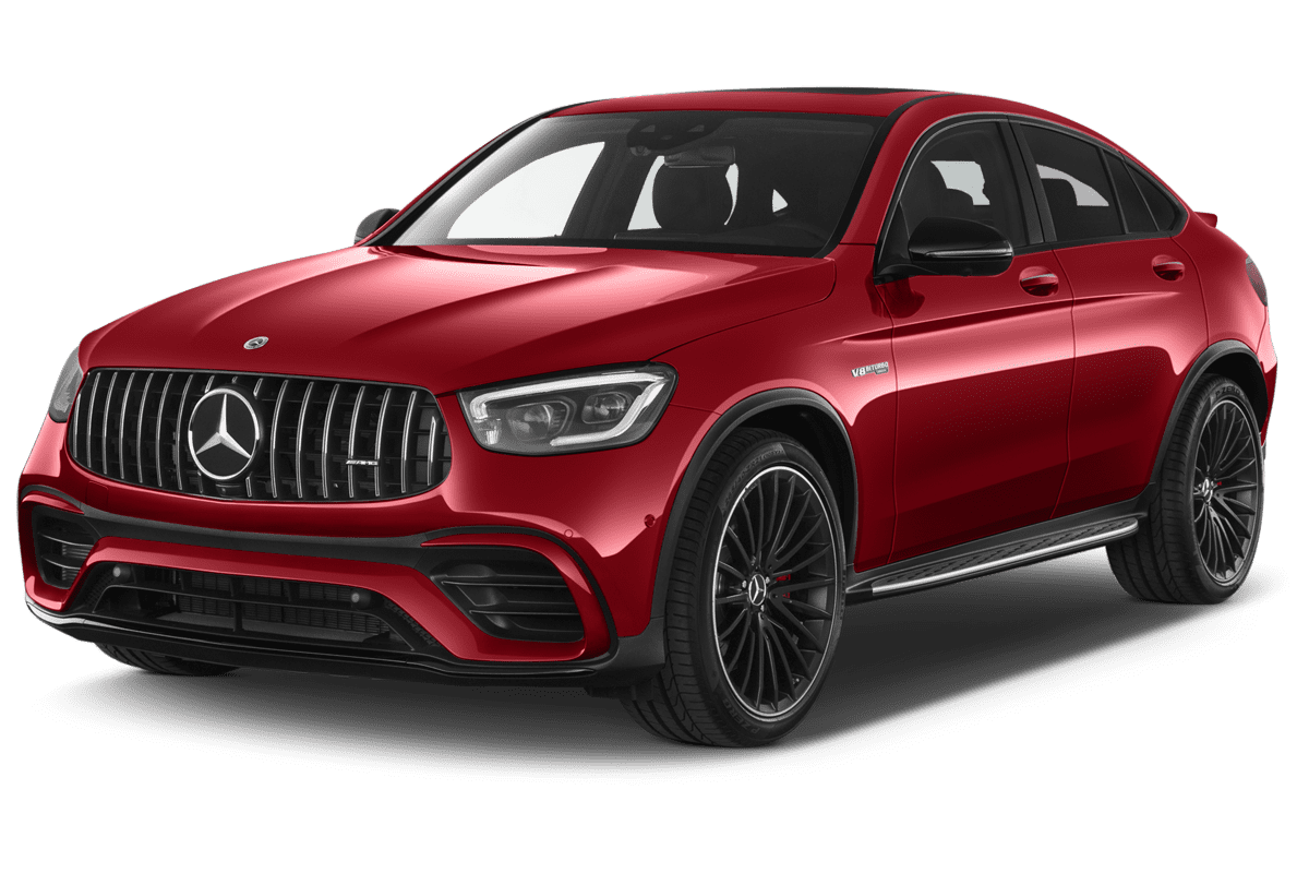 Mercedes GLC Coupé angularfront