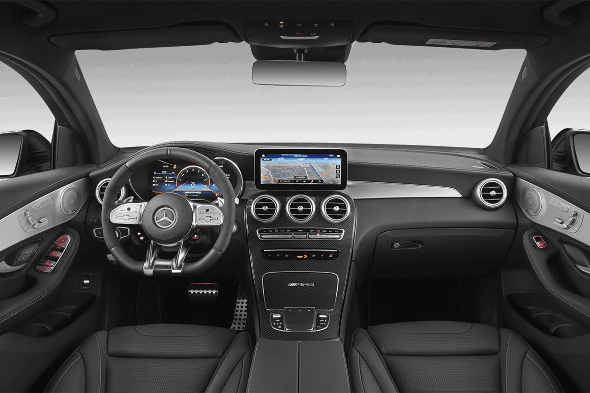 Mercedes GLC Coupé dashboard