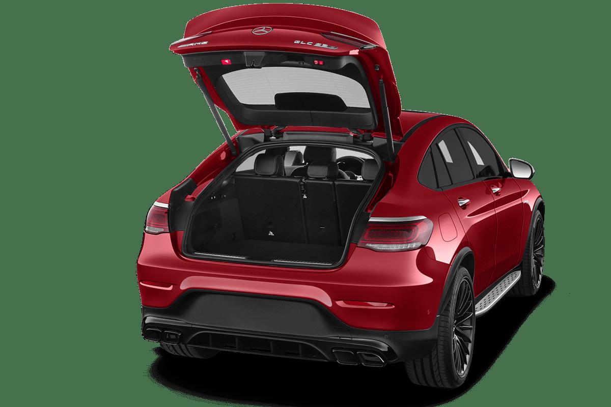 Mercedes GLC Coupé trunk
