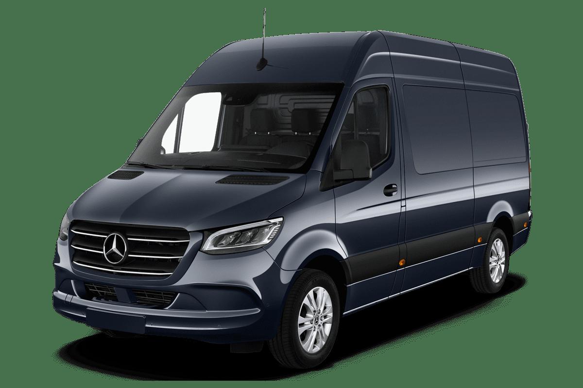 Mercedes Sprinter Kastenwagen angularfront