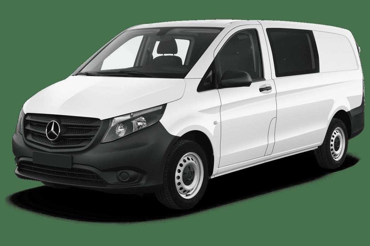 Mercedes Vito Kastenwagen angularfront