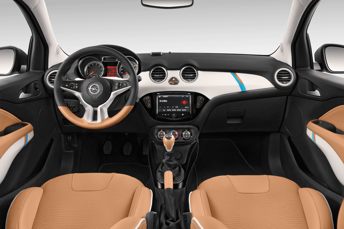 Opel Adam Rocks dashboard