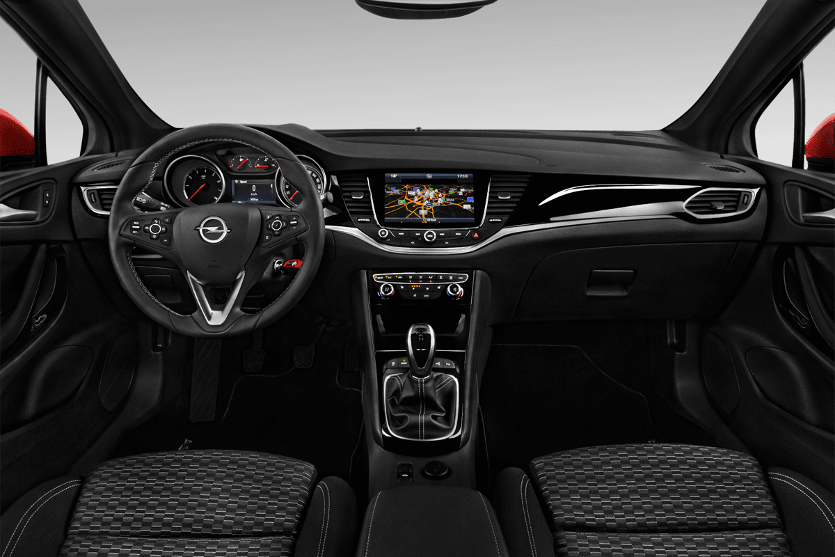 Opel Astra Active dashboard