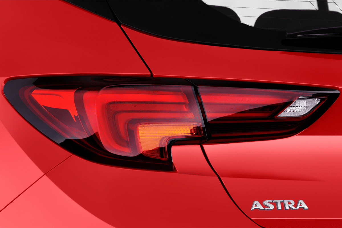 Opel Astra Active taillight