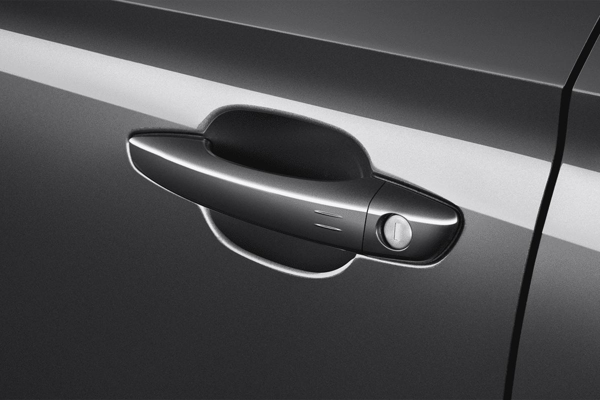 Opel Corsa-e doorhandle
