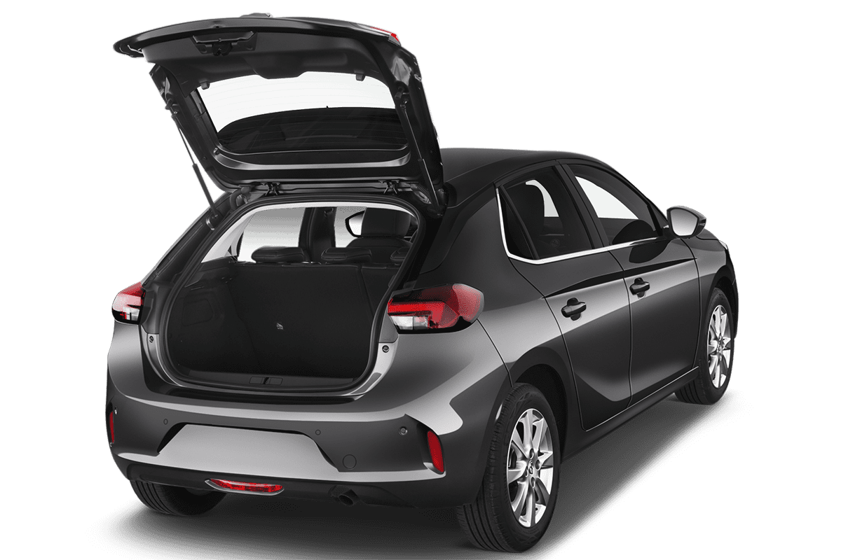 Opel Corsa-e trunk