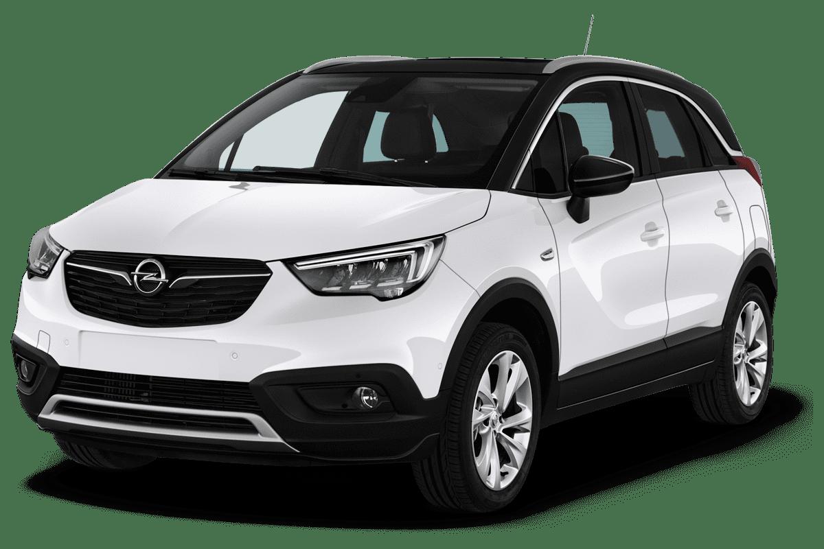 Opel Crossland X LPG angularfront