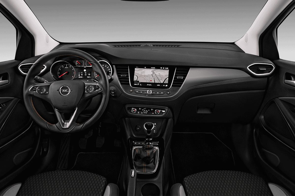 Opel Crossland X LPG dashboard
