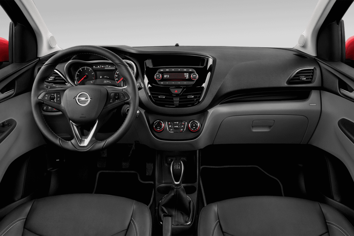 Opel Karl LPG dashboard