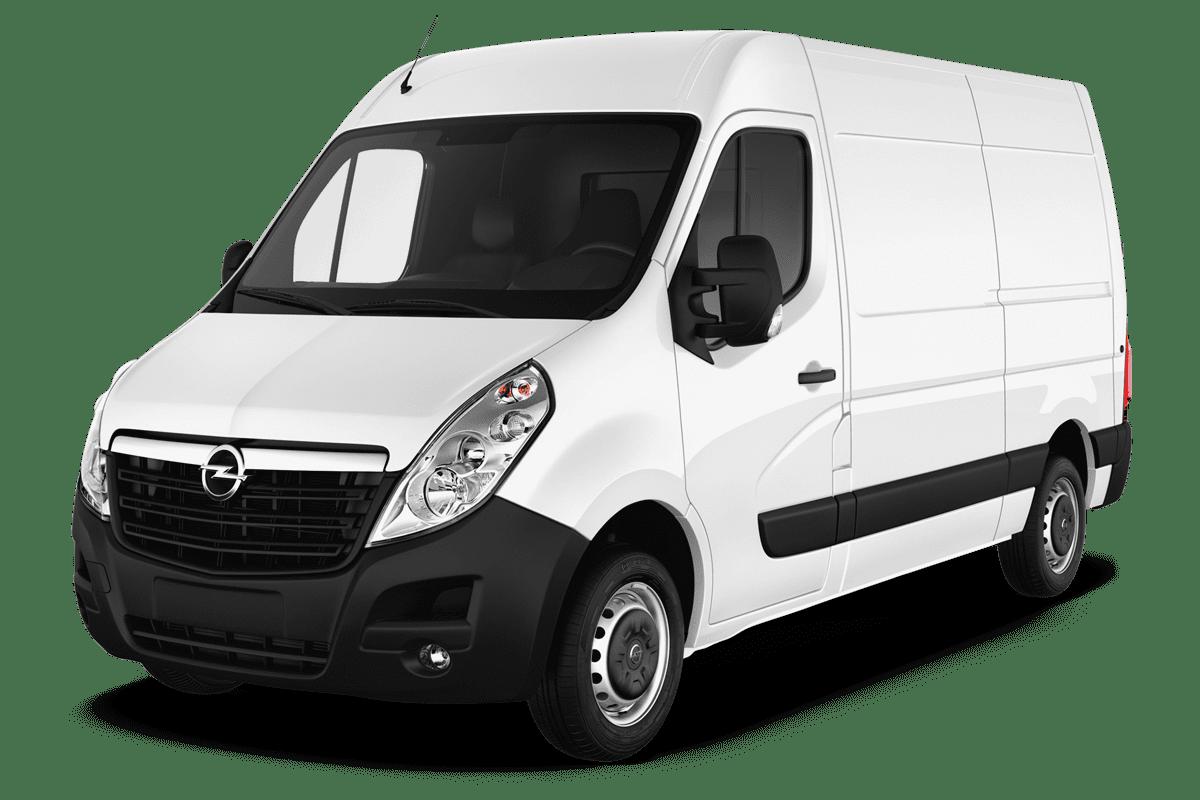 Opel Movano Kastenwagen angularfront