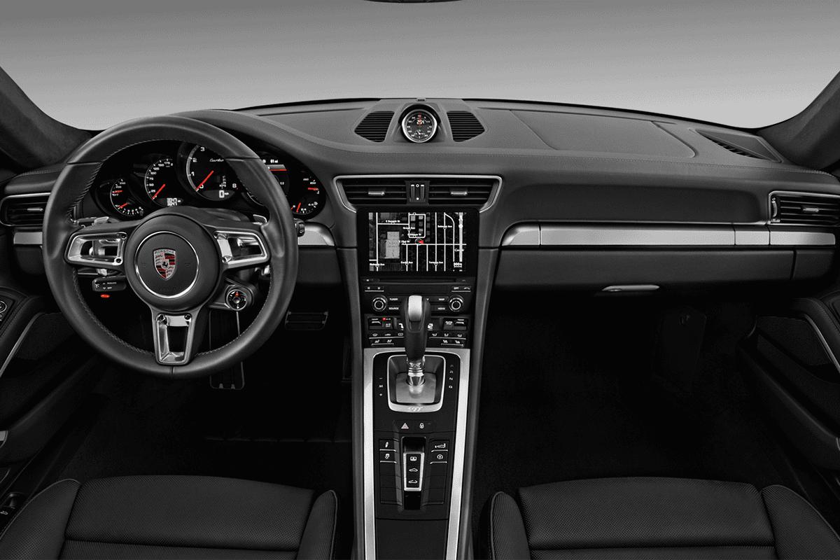 Porsche 911 Turbo dashboard