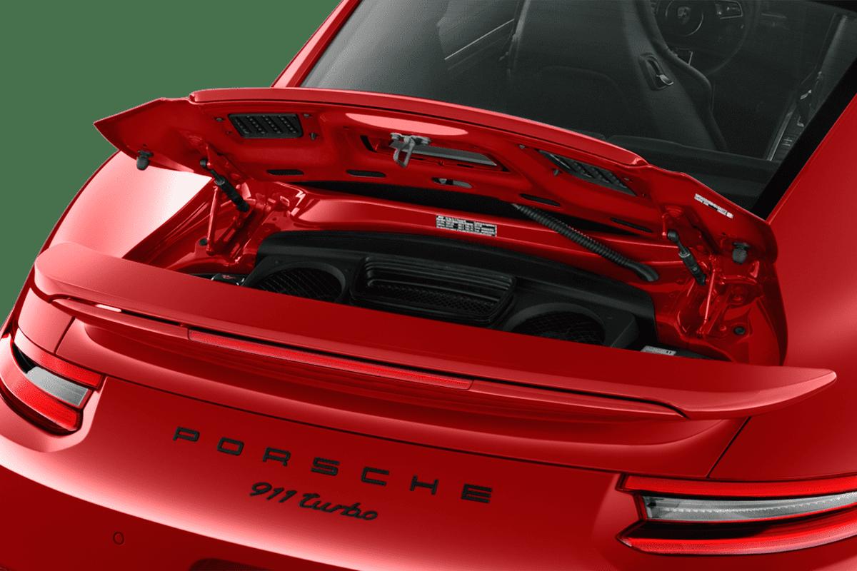 Porsche 911 Turbo trunk