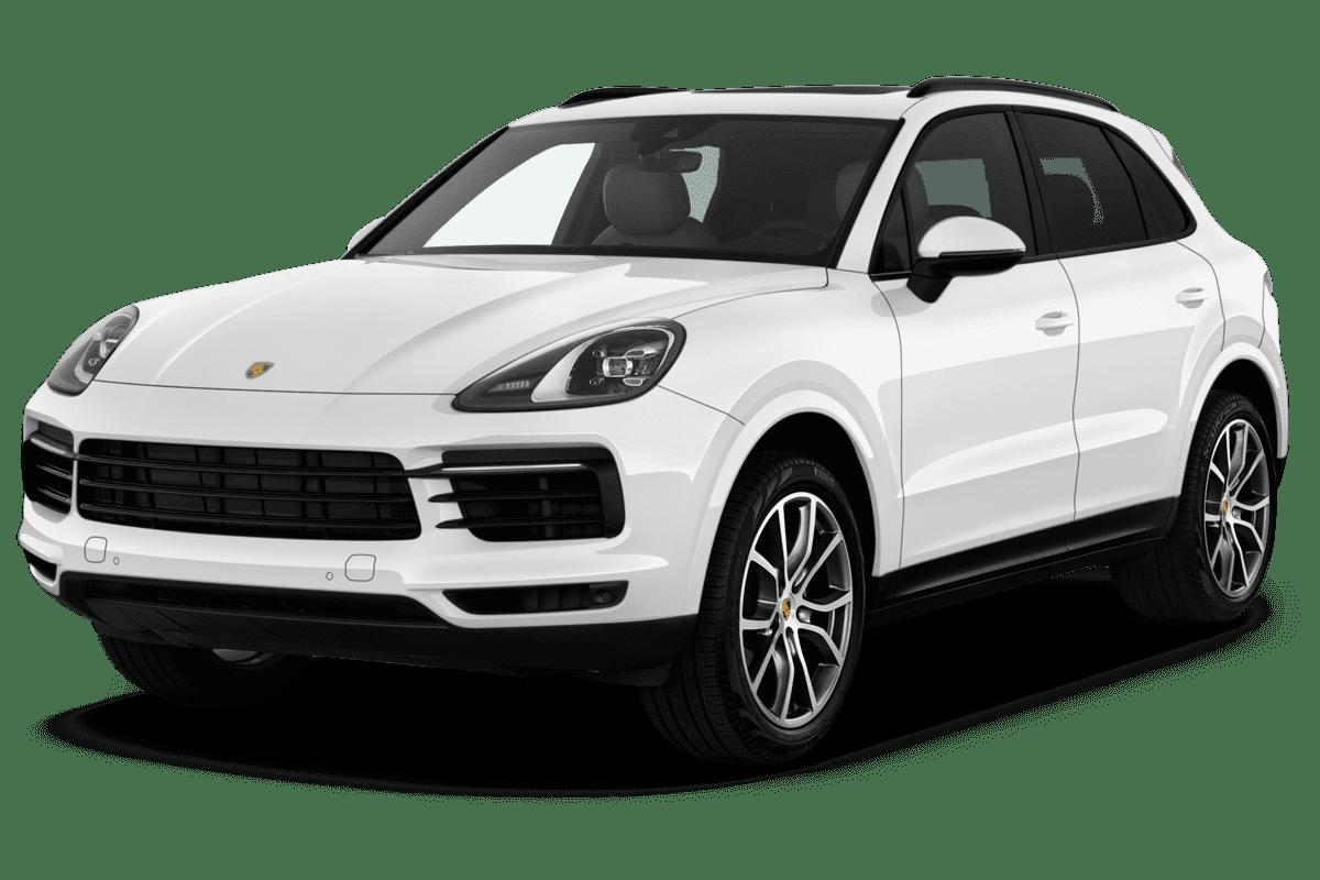 Porsche Cayenne angularfront