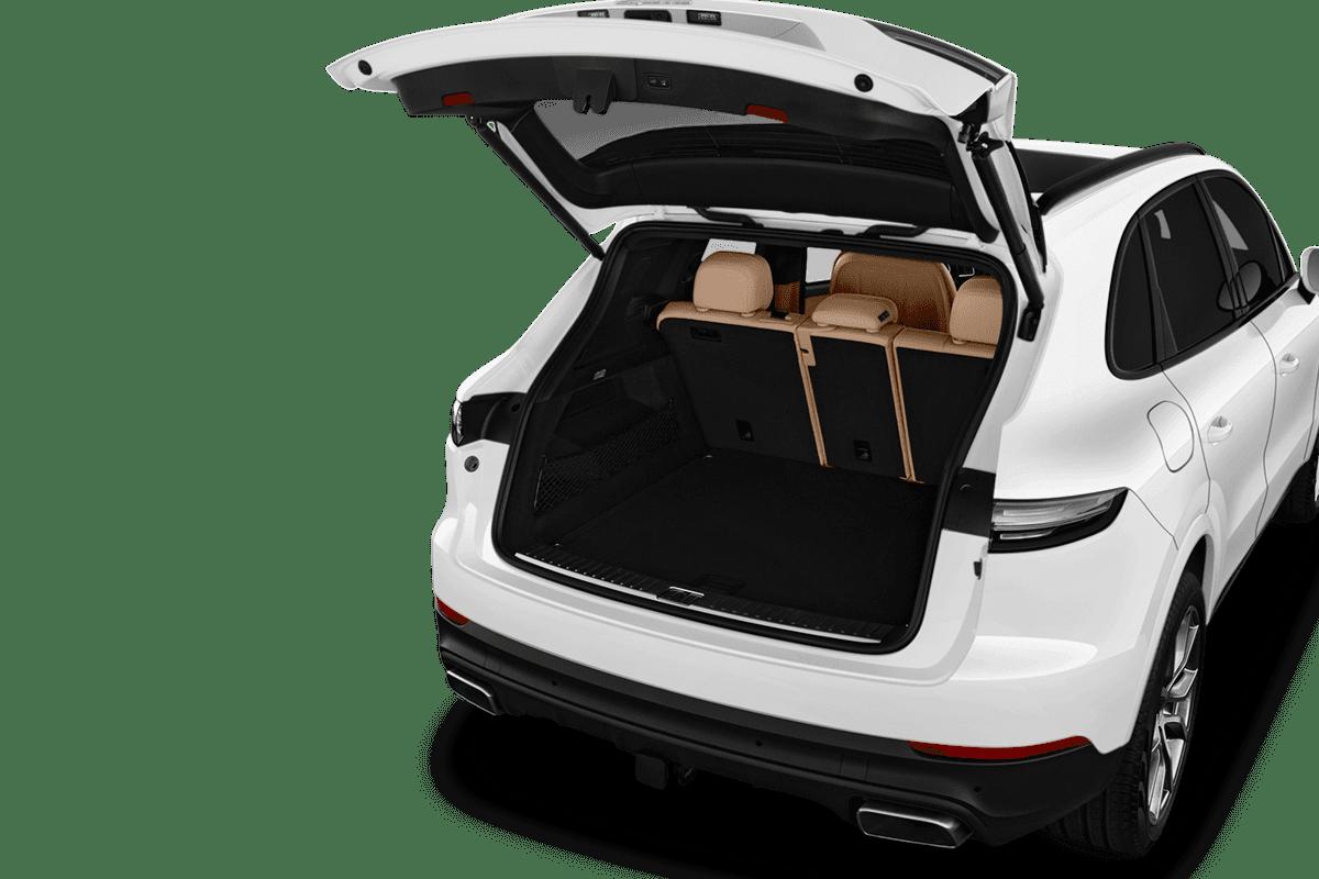 Porsche Cayenne trunk