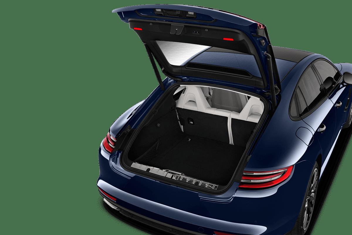 Porsche Panamera trunk