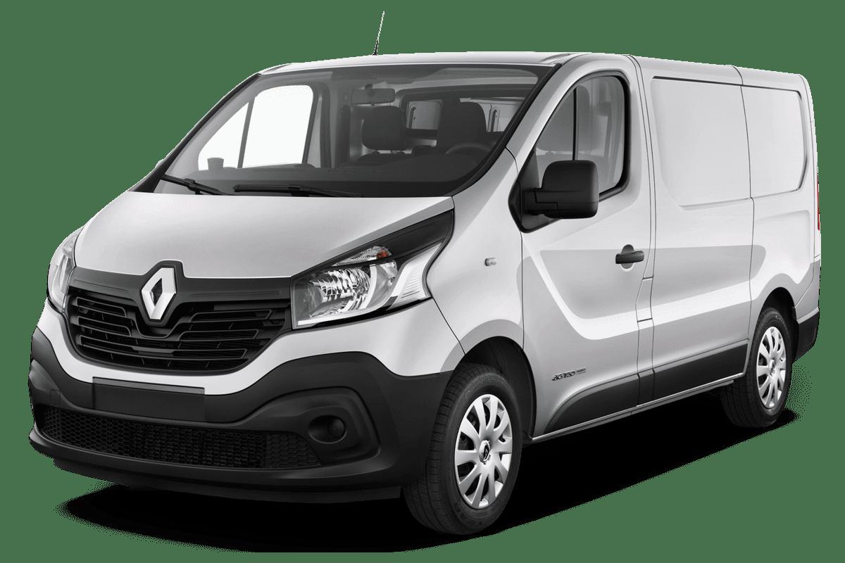 Renault Trafic Doppelkabine Kastenwagen angularfront