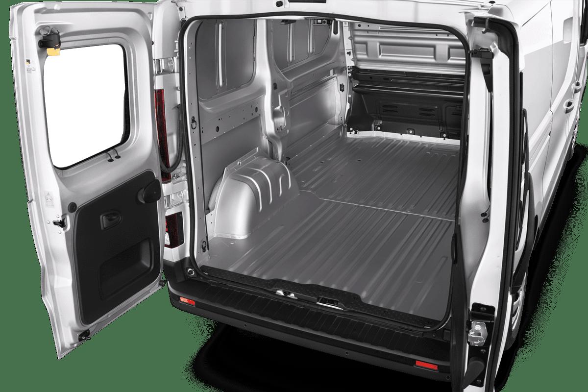 Renault Trafic Doppelkabine Kastenwagen trunk