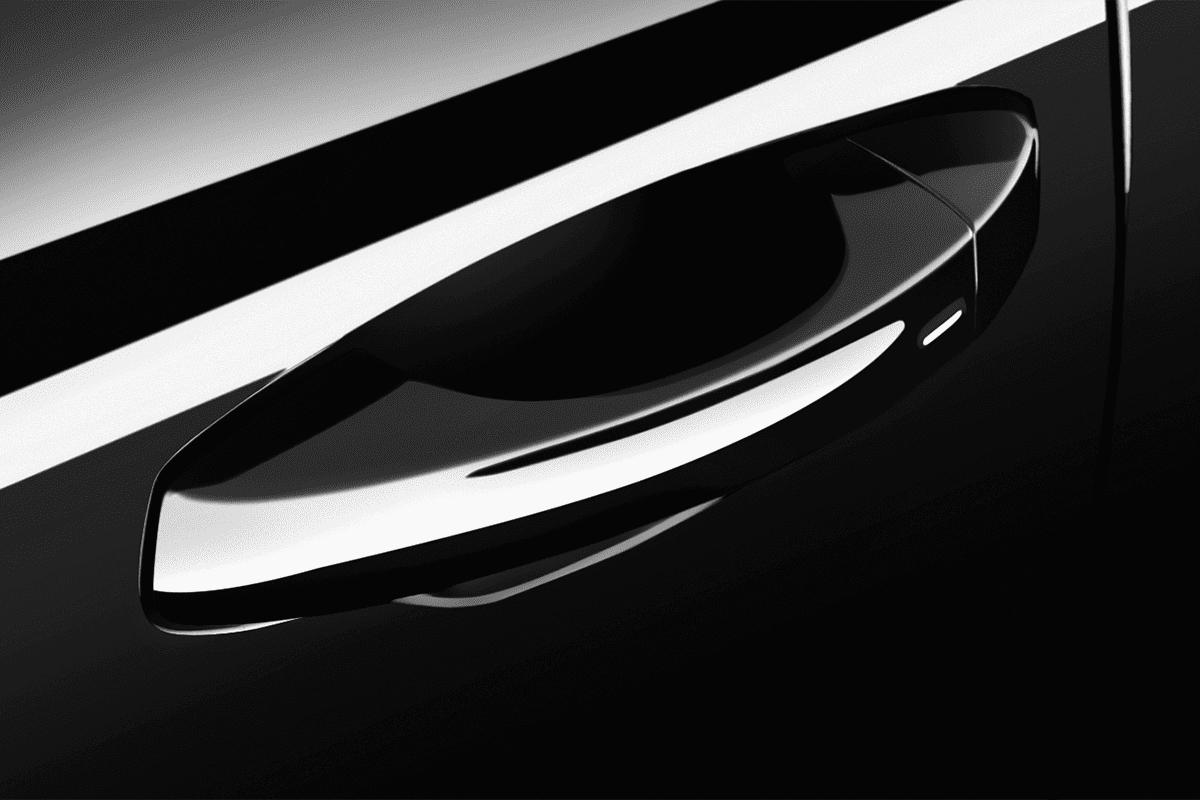 Seat Ibiza Black Edition doorhandle