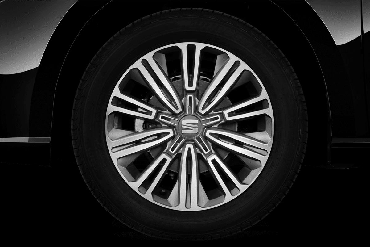 Seat Ibiza Black Edition wheelcap