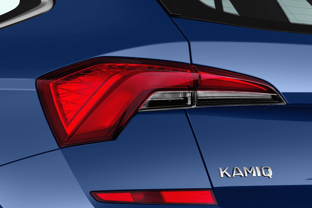Skoda Kamiq g-tec taillight
