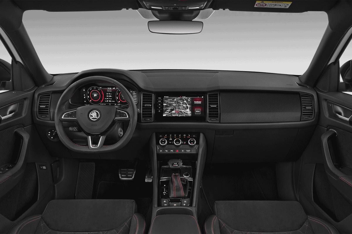 Skoda Kodiaq RS (neues Modell) dashboard
