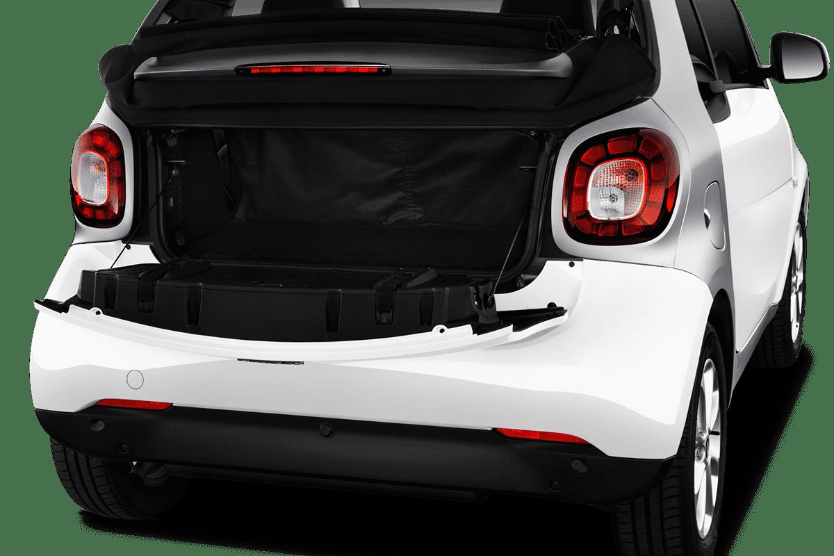 Smart fortwo cabrio trunk