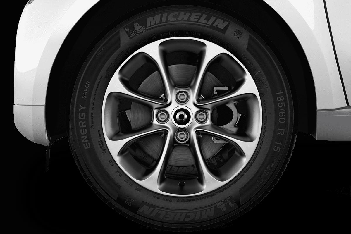 Smart fortwo cabrio wheelcap