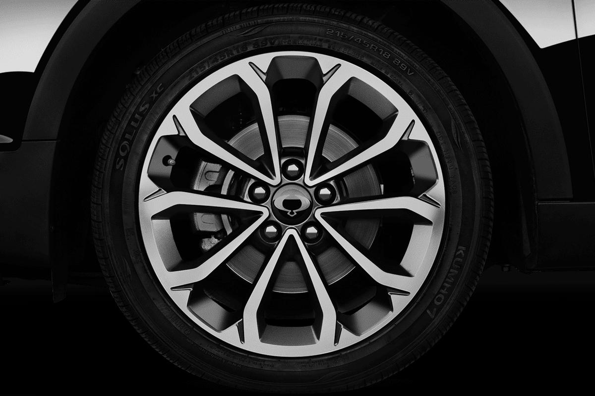 Ssangyong XLV wheelcap