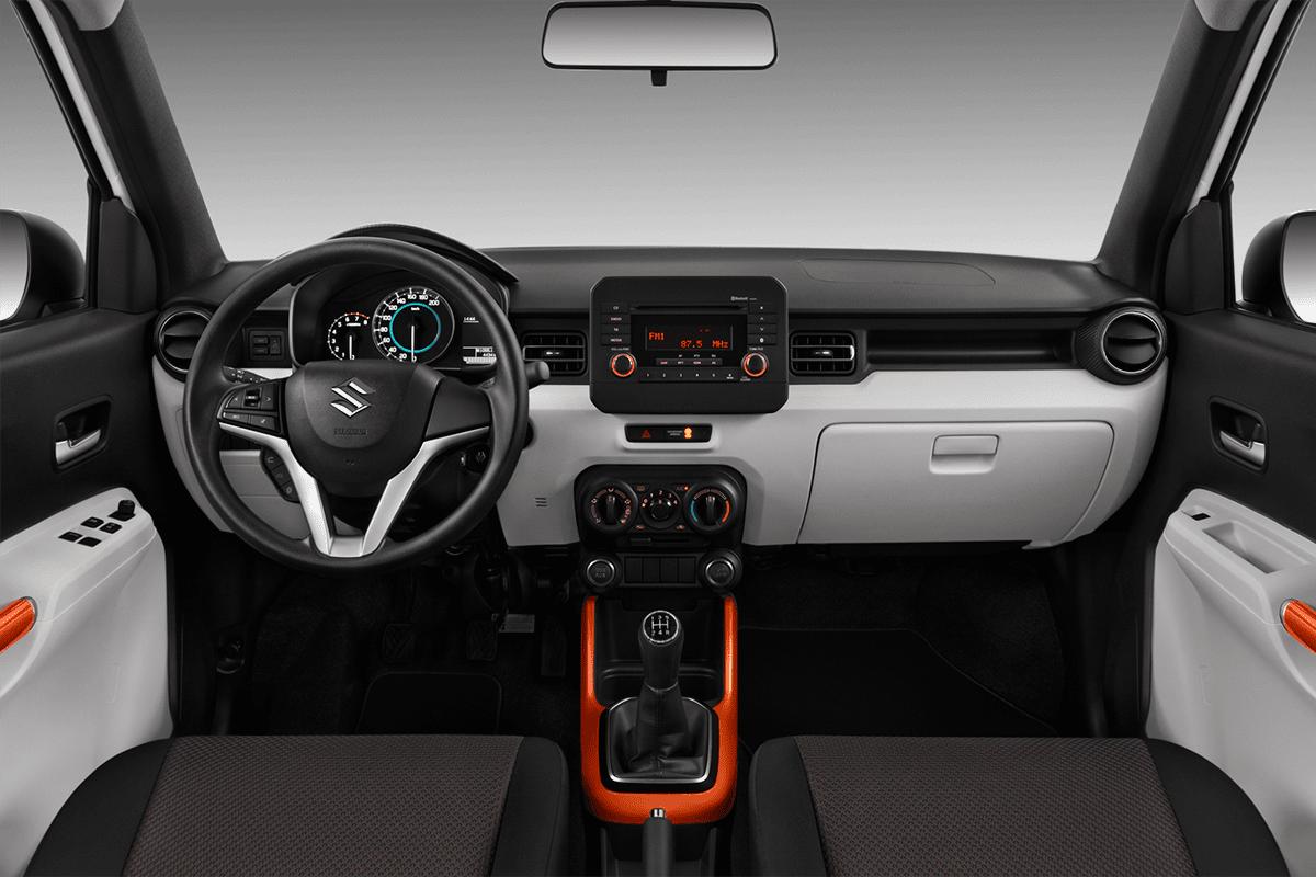 Suzuki Ignis dashboard