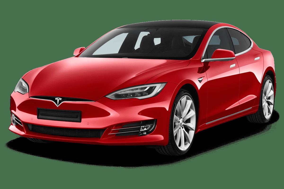 Tesla Model S angularfront