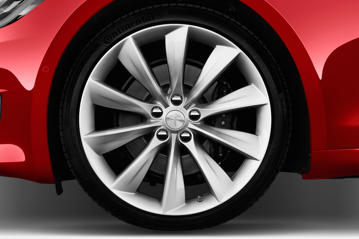 Tesla Model S wheelcap