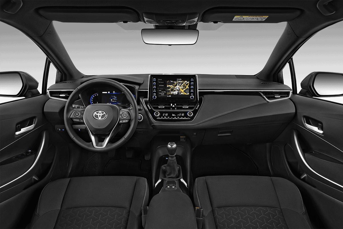 Toyota Corolla dashboard
